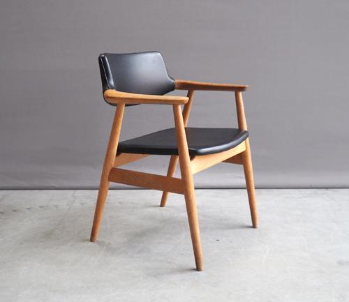 Onwijs Sven Aage Eriksen GM11 Deens design stoel MB-92