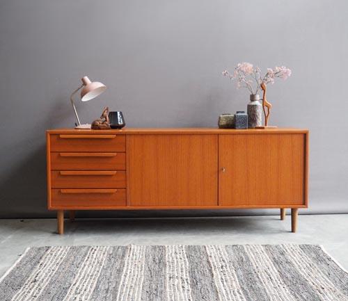 Vintage design dressoir wk mobel for Design vintage mobel