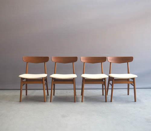 Eettafel Stoelen Beige.Farstrup Eettafel Stoelen Wit Deens Design