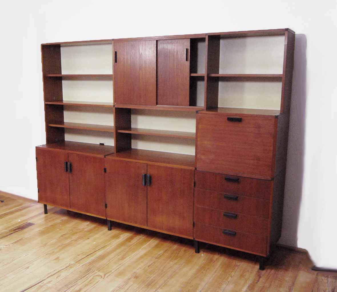 Pastoe jaren 60 wandkast for Jaren 60 meubelen